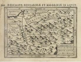 BERTIUS, P. / HONDIUS, J. -  Benearnia et Bigornia.