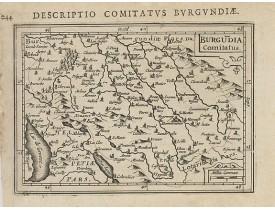 BERTIUS, P. / HONDIUS, J. -  Burgundia Comitatus.