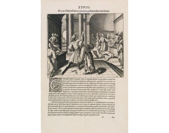 DE BRY, Th. -  Mirae Chinensium ceremoniae, quibus in sacris & diuino cultu vtuntur.