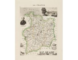 DYONNET, Ch. -  La France. Ille et Vilaine.