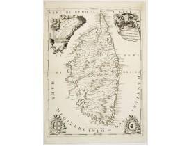 CORONELLI, V. M. -  Isola di Corsica, dedicata.