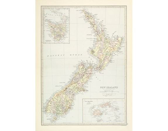 BARTHOLOMEW, J. G. -  New Zealand.