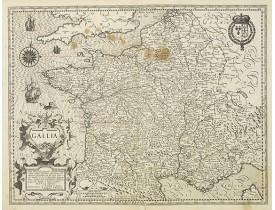 MERCATOR, G. / HONDIUS, J. -  Gallia.
