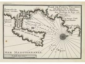 MICHELOT, H. / BREMOND, L. -  Plan de Porto Vecchio, en l'Isle de Corse.