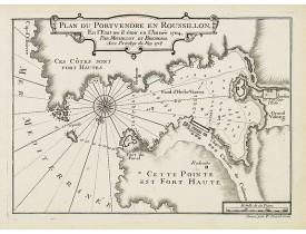 MICHELOT, H. / BREMOND, L. -  Plan du Port Vendre en Roussillon. . .