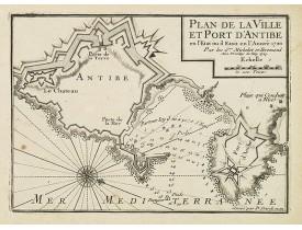 MICHELOT, H. / BREMOND, L. -  Plan de la Ville et Port d'Antibe.