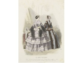 LES MODES PARISIENNES -  Paris fashion plate. (656).