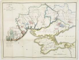 MALTE-BRUN, V.A. -  Carte des Colonies établies dans la partie Sud-Ouest de la Russie.