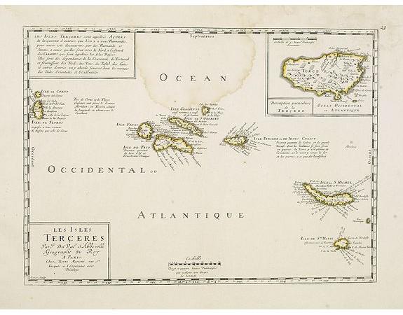 DU VAL, P. -  Les Isles Terceres. . .