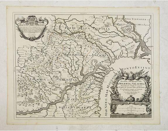 ROSSI, G. G. -  Descritione delli principati della Moldavia e Valachia / tolta da Giacomo Cantelli da Vignola.