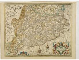 HONDIUS, J. -  Cataloniae principatus descriptio nova.