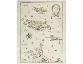 TASSIN, Ch. -  Description Du Cap De La Croix Isles Ste Marguerite et St Honorat.