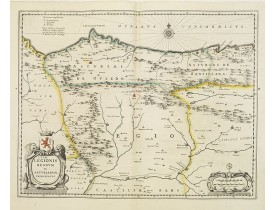 JANSSONIUS, J. -  Legionis regnum et Asturiarum principatus.