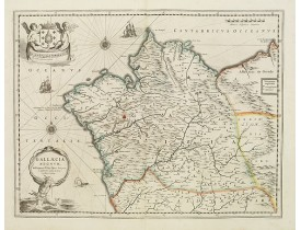 JANSSONIUS, J. / HONDIUS, H. -  Gallaecia Regnum.