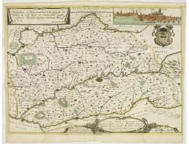 TAVERNIER, M. -  Carte du Diocèse d'Alby.