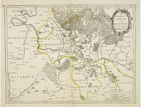 BOISSEAU, J. -  Les Souverainetez de Sedan et de  Raucourt et la Provosté de Doncheri 1642.