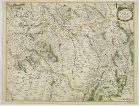 BLAEU, W. -  Dioecese de RHEIMS, et Pais de RETHEL. Par Jean Jubrien Chalonnois.