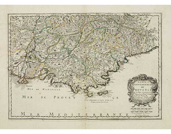 SANSON, N. / MARIETTE, P. -  Comté, et Gouvernement de Provence. . .