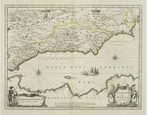 JANSSONIUS, J. -  Granata et Murcia regna.