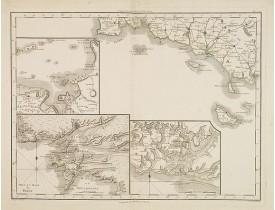 TARDIEU, P-F. / MENTELLE, E. -  [Sans titre] Bretagne, Port et Rade de Brest.