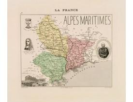 VUILLEMIN, A. -  Alpes Maritimes.