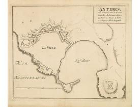 FER, N. de -  ANTIBES, Ville et Port de Mer de Provence, sur la Mer Mediterranée.