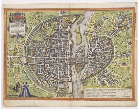 BRAUN, G. / HOGENBERG, F. -  Lutetia, vulgari nomine Paris, urbs Gallia…