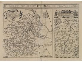 BOUGUEREAU, M. / LECLERC, J. -  Charte du Berry et Limaine d'Auvergne.