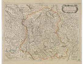 JOLLAIN, G. -  Carte du païs et Duché de Nivernois.