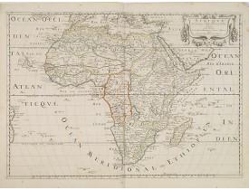 SANSON, N./ MARIETTE, P. -  Afrique Par N. Sanson d'Abbevile.