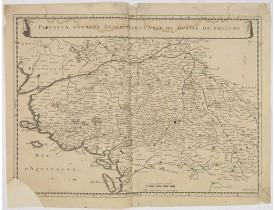 MARIETTE, P. -  Pictaviae Ducatus Descriptio, Carte du Duché de Poictou.