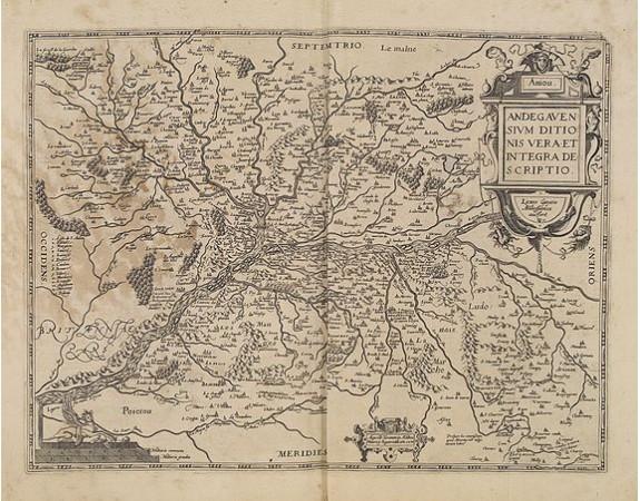 BOUGUEREAU, M. / LECLERC, J. -  Andegavensium Ditionis Vera et Intregra Descriptio.