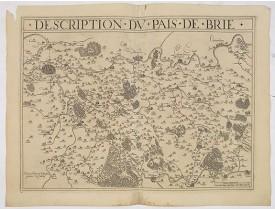 BOUGUEREAU, M. / LECLERC, J. -  Description du Pais de Brie.