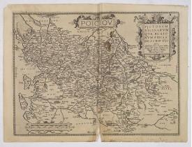 BOUGUEREAU, M. / LECLERC, J. -  Poictou. Pictonum vicinarum que regionum fidiss.a descriptio.