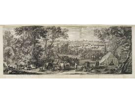 MEULEN, A. F. van der. -  Veuë de l'Armée du Roy, campée devant Doüay, du costé de la porte Nostre-Dame, en l'année 1667.