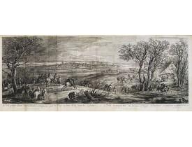MEULEN, Adam Frans Van der. -  Dole prise dans la première conqueste que le Roy a faite de la Franche Comté en 1668.