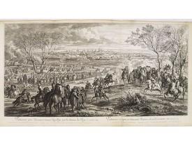 MEULEN, A. F. van der. -  Valenciennes prise d'assaut, et sauvée du pillage par la clemence du Roy, le 16 mars 1677.