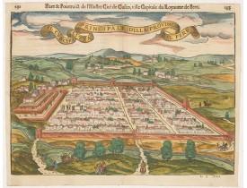DU PINET, A. - Il Cuscho citta principale della provincia del Peru.