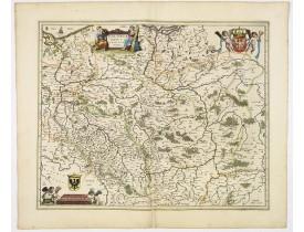 BLAEU, W. -  Polonia regnum et Silesia ducatus.