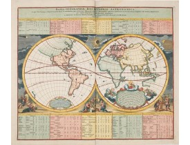HOMANN, J. B. -  Basis Geographiae recentioris astronomica..