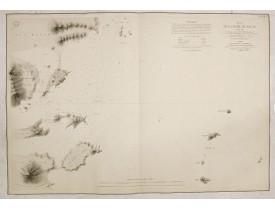DÉPÔT GÉNÉRAL DE LA MARINE. -  Plan de la rade de Macao (chine) Levé d'après les ordres mr. Rocquemaurel