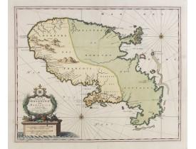 VISSCHER, N. / SCHENCK, P. -  Insula Matanino vulgo Martanico in lucem edita / per Nicolaum Visscher.