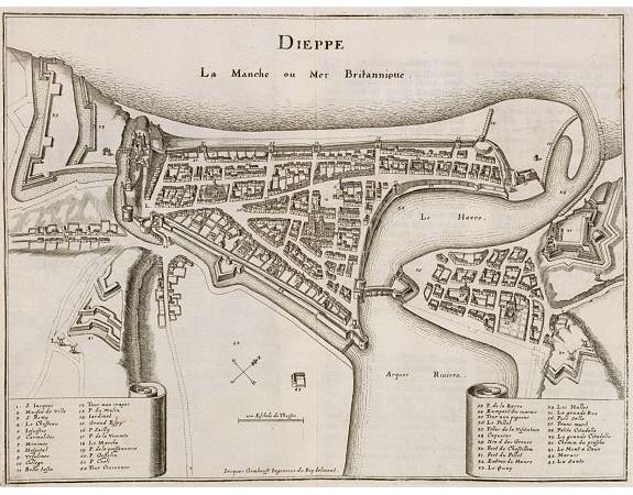 MERIAN, C. -  Dieppe.