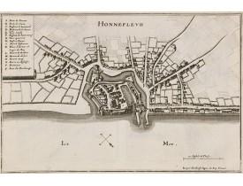 MERIAN, C. -  Honnefleur.