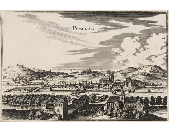 MERIAN, C. -  Pezenas.