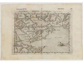 RUSCELLI, G. -  Arabia Felice Nuova Tavola.