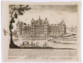 CRÉPY, Etienne-Louis -  Le Château de Chambor.