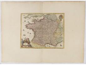 MERIAN, M. -  Galliae Nova accurata descriptio Vulgo Royaume de France.