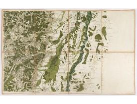 CASSINI DE THURY, C .F. -  (Colmar/Schlettstat). F.le 59.