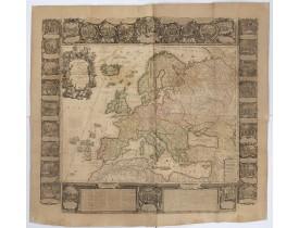 [NOLIN, Jean-Baptiste / Jean-Baptiste NOLIN II -  L'Europe Dressée Sur les Nouvelles observations. . .